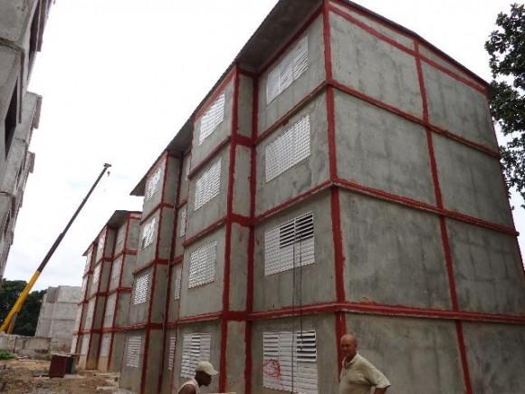 El sistema prefabricado ha sido bastante utilizado en las construcciones cubanas