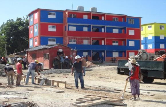 Nuevas edificaciones en Santiago de Cuba