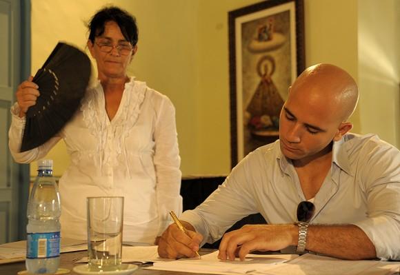 """""""Calflat"""" es la otra cooperativa pionera y está presidida por José Carlos Mesa (23 años) / Foto Néstor Martí"""