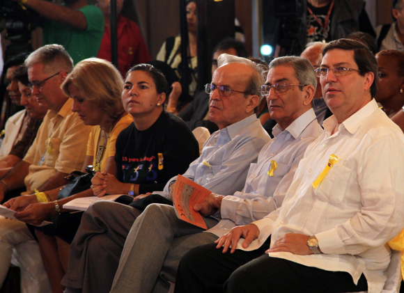 Encuentro Internacional por la Libertad de los 5. Foto: Ismael Francisco/Cubadebate.