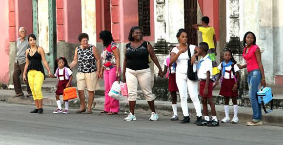 Todos a la escuela.  Foto: Ismael Francisco/Cubadebate.