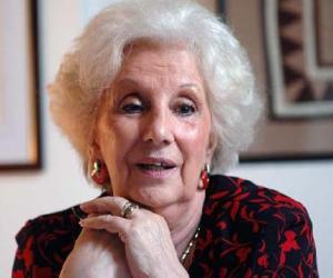 Estela Carlotto, madre de Laura Carlotto.