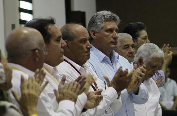 Presiden Miguel Díaz-Canel y Danylo Sirio inauguracion del Festival de la radio y la Televisión cubana.Foto: Ismael Francisco/Cubadebate.