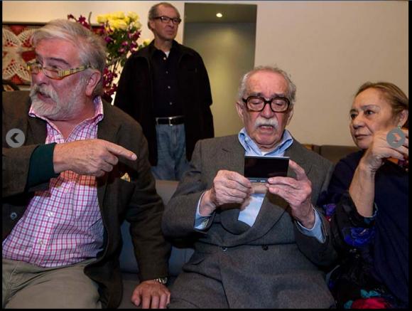 Reaparece Gabriel García Márquez (+ Video)