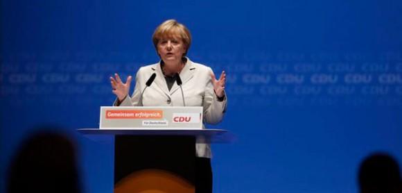 La canciller alemana, Angela Merkel, dio a conocer que su país no participará en ninguna intervención militar contra Siria.