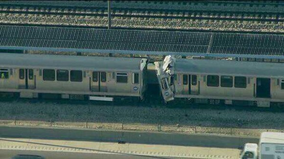 tren accidente chicago