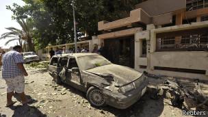 Atentado Libia