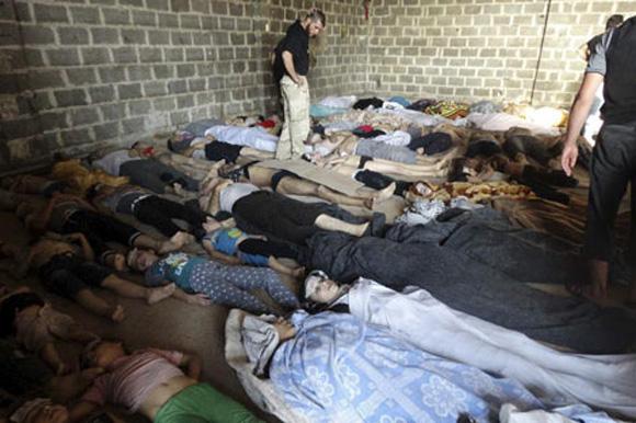 Según la Organización de las Naciones Unidas (ONU) más de 100 mil personas han muerto desde el inicio del conflicto en Siria a mediados de marzo de 2011.