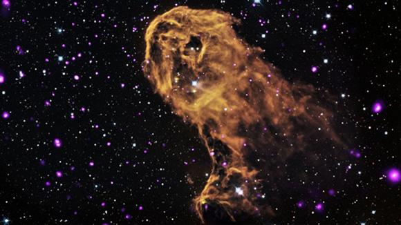 Cuando la radiación y los vientos de estrellas jóvenes masivas impactan con nubes de gas frío, pueden provocar nuevas generaciones de estrellas. Esto es lo que puede estar sucediendo en este objeto conocido como la nebulosa de Trompa de elefante.