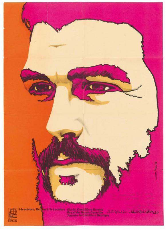 Otro cartel de Olivio Martínez: Che.