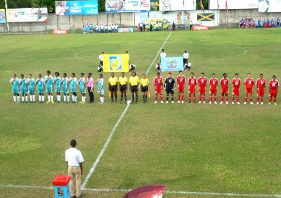 Futbol-femenino-Cuba vs Anguila