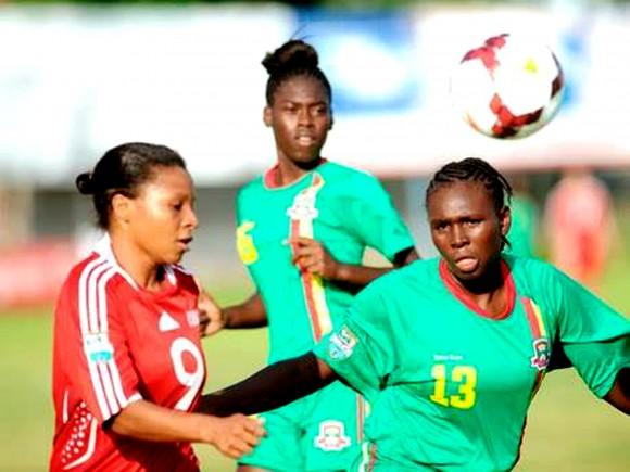 Futbol-femenino-Cuba vs Granada