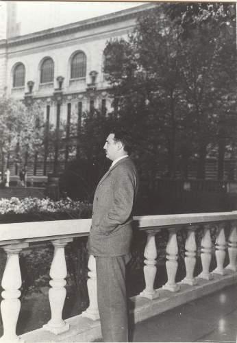 Fidel Casro en México D.F en noviembre de 1956