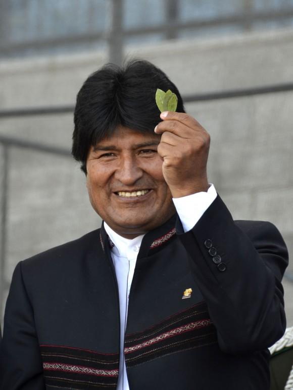 Evo Morales en la Facultad de Peridosimos de La Plata fotos Kaloian (2)