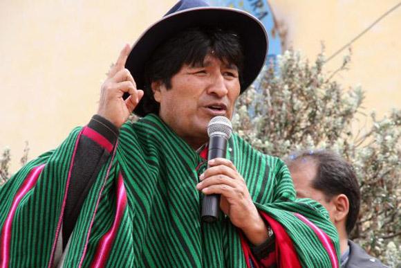 El sábado, Morales fue proclamado por el partido Movimiento Al Socialismo (MAS), como el candidato a la reelección en ese país para las próximas elecciones presidenciales del 5 de octubre de 2014, para el período 2015-2020.