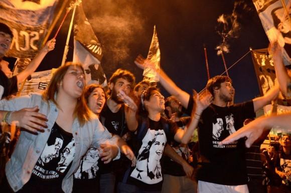 Festejos por la Ley de Medios fotos Kaloian2