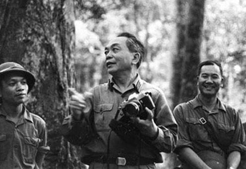 El General Giap en 1972
