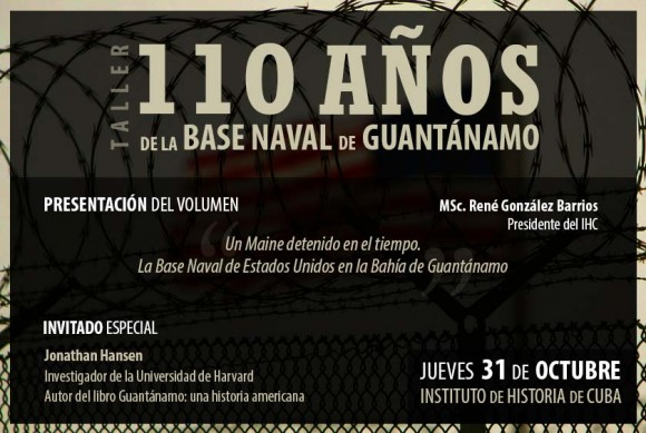 Organizan taller 110 años de la base naval de Guantánamo