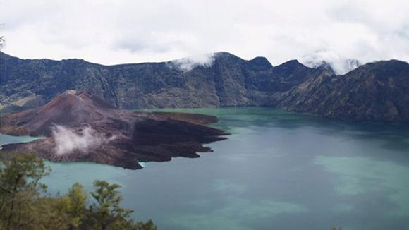 Imagen del volcán