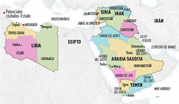 El mapa moderno de Oriente Medio, una zona significativa política y económicamente en el orden internacional, está a punto de cambiar ante la continuada ola de convulsiones sociales y conflictos, tanto activos como latentes, en la región.