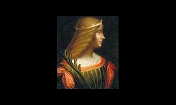 """El """"Retrato de Isabel de Este"""", hasta hoy, obra inédita de Leonardo Da Vinci."""