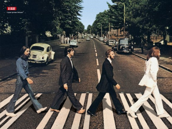 Portada de Abbey Road.