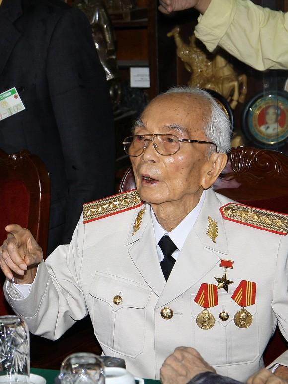 Vo NGuyen Giap en el 2008