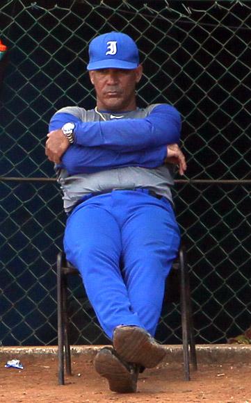 Lazaro Vargas, manager de los Industriales. Foto: Ismael Francisco/Cubadebate.