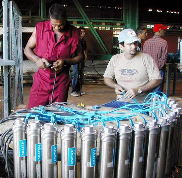 Imagen de archivo de la Fábrica de Bombas de Agua, en Camagüey.