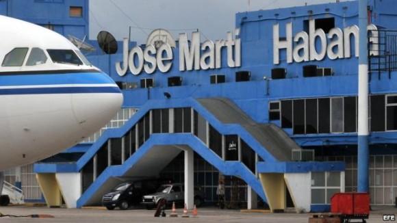Aeropuerto Internacional José Martí, de La Habana, Cuba. Foto: EFE/ Archivo