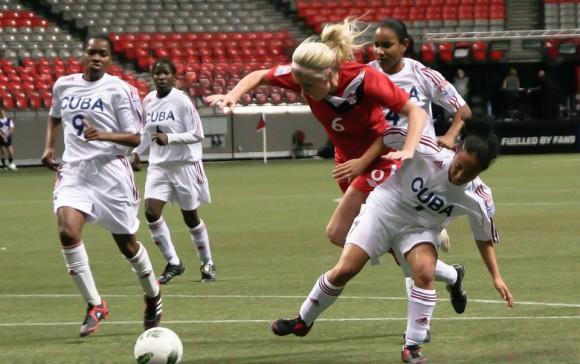 Disputarán amistosos encuentros en Cuba selecciones femeninas de fútbol