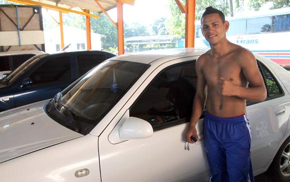 Robeisy Ramírez, campeón Olímpico de Londres 2012, asegura que se ha adaptado bien a su nueva división. Foto: Ismael Francisco/Cubadebate.