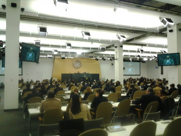 Un momento de la votación en ONU. Foto: Massiel Rivero