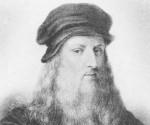 Autorretrato de Leonardo Da Vinci (1452 - 1519).