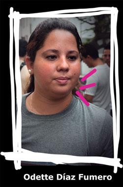 Odette Díaz. Foto: Elio Miranda.