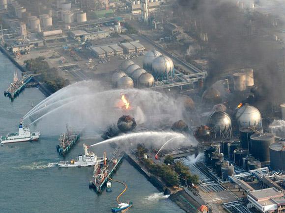Imagen de 2011, cuando la planta nuclear de Fukushima entró en fase crítica tras un incendio y una explosión que desataron el temor a una fuga masiva de radiactividad.