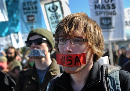 protesta contra espionaje