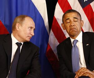 Presidente de Francia recibe por separado a Obama y Putin