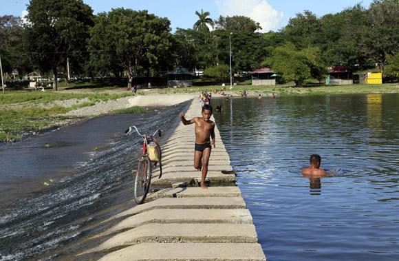 Río Bayamo. Foto: Ismael Francisco/Cubadebate.