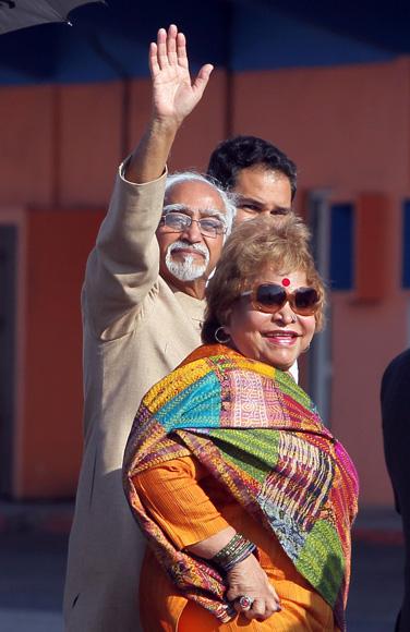 Llega a La Habana  Mohammad Hamid Ansari, Vicepresidente de la República de la India. Foto: Ismael Francisco/Cubadebate.