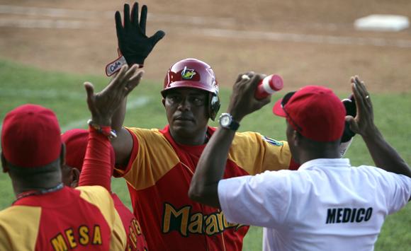 Garlobo decidió el partido. Foto: Ladyrene Pérez/Cubadebate.