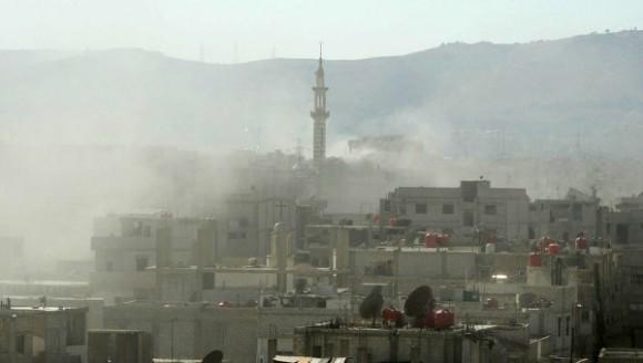 Consecuencias del ataque con armas químicas del 21 de agosto de 2013 en las afueras de Damasco.