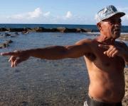 Aldo Labrada, maestro, pescador, presidente comunitario. Foto: Alejandro Ramírez Anderson.