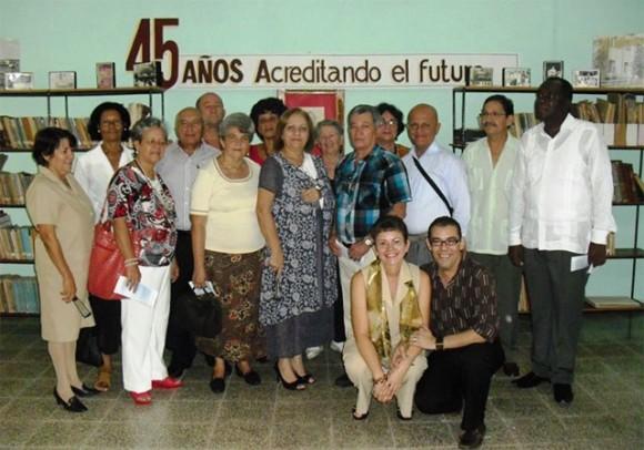 Aniversario del Pedagógico de Holguín.