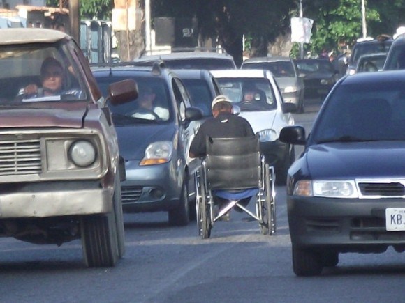 Contracorriente. Foto: Héctor Valdés Domínguez, tomada en Venezuela