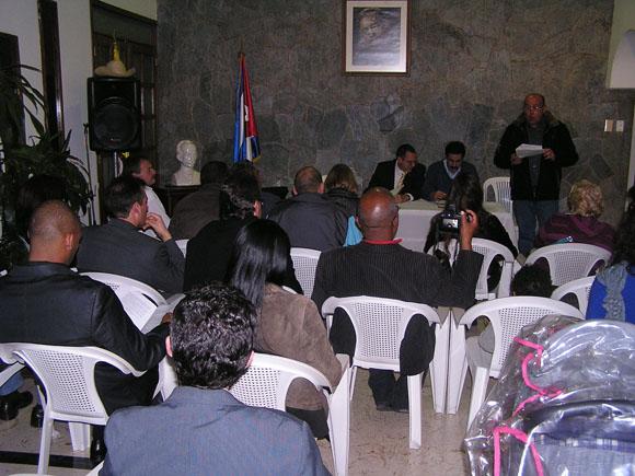 Ayer 5 de diciembre de 2012, integrantes de la comunidad de cubanos residentes en Colombia organizaron un encuentro en el que dejaron constituida la Asociación de Cubanos Residentes en Colombia