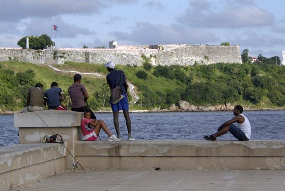 Un domingo con amigos. Foto: Daylén Vega/Cubadebate