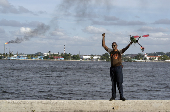 Deja tus sueños volar. Foto: Daylén Vega/Cubadebate