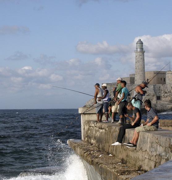 Día de pesca. Foto: Daylén Vega/Cubadebate