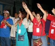 Manos por la libertad.  Foto: Daylén Vega / Cubadebate.